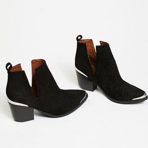 Jeffrey Campbell Black Cromwell Booties